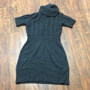 Ann Taylor Loft Sweater Turtleneck Dress Small